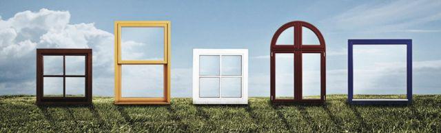 kształty i typy okien