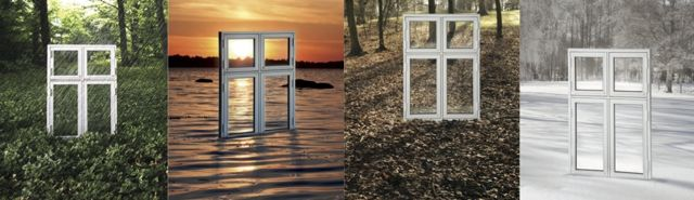 okna a pory roku