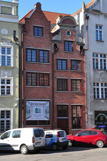 Kamieniczki na ul Straganiarskiej Gdańsk