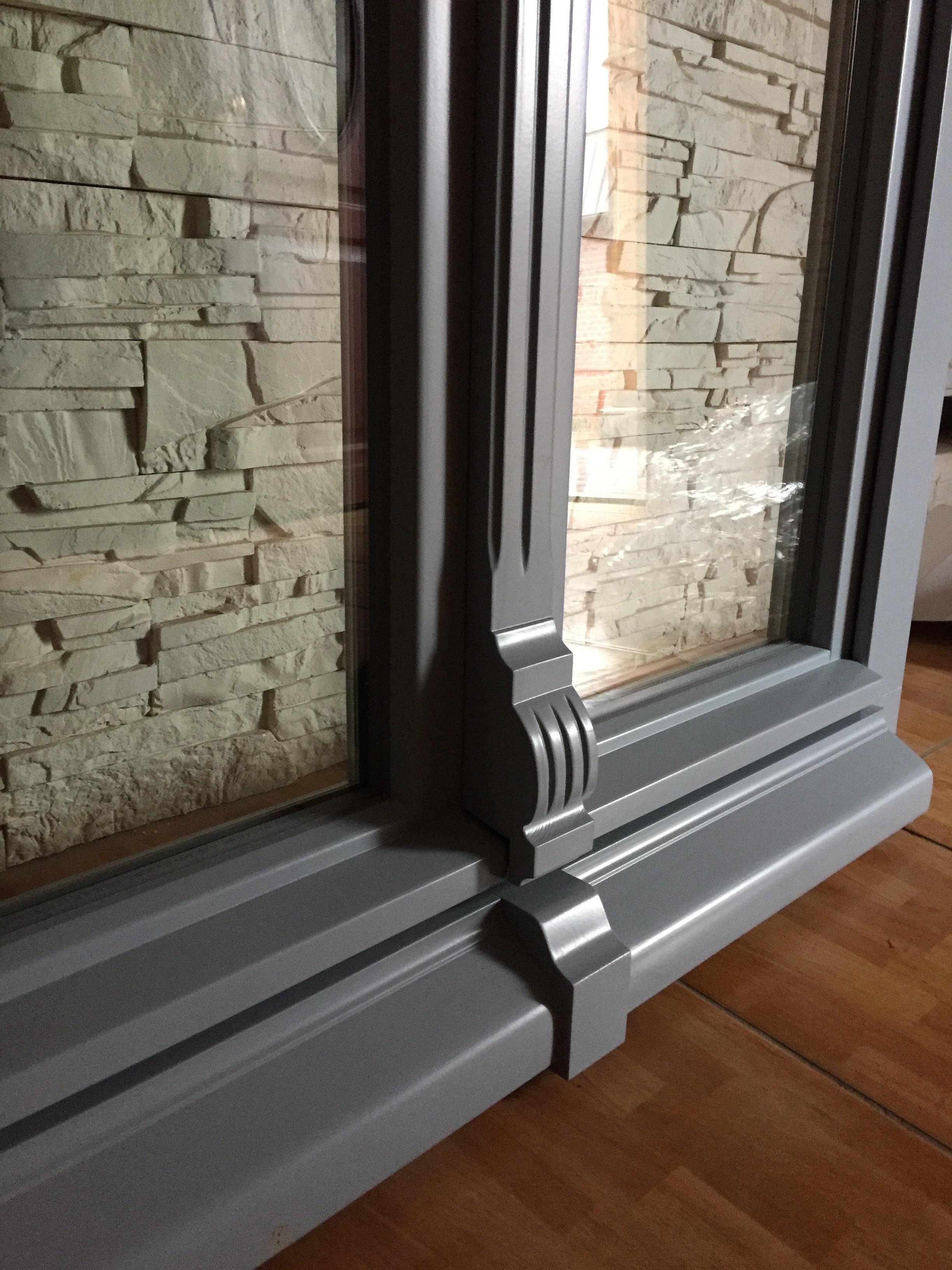 okno modelowe okapnik futryny